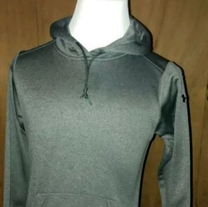 Under Armour Men Loose Fit Pullover Logo Hoodie Sw
